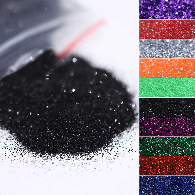 5g/Bag Glitter Nail Powder for DIY Nail Art Decoration Purple Blue Silver Nail Pigment Dust Tips Shining Shimmer Manicure