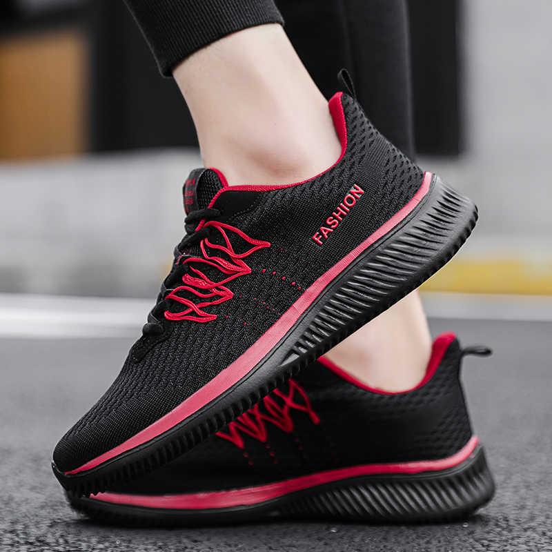 Zapatos deportivos para hombre, zapatos de entrenamiento cómodos de lujo de alta calidad, zapatos de calle transpirables originales ligeros, zapatillas para correr para mujer