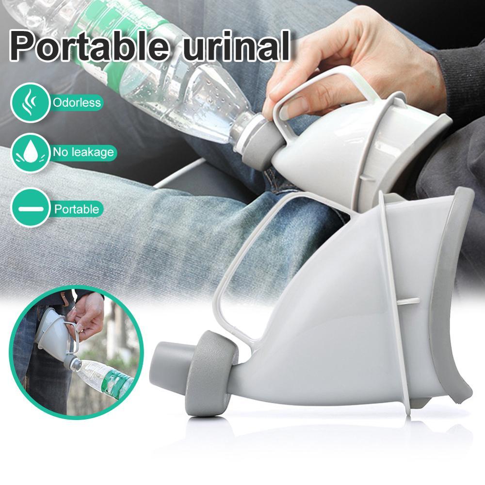 Portable voiture voyage extérieur adulte urinoirs pour homme femme pot entonnoir Embudo Orina pipi Camping toilette circulation d'urgence