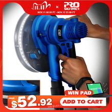 750W Drywall Sander 230V Wall Polishing Machine Grinding Portable Led Light 610 2150/min Wall Putty Polisher Machine  PROSTORMER