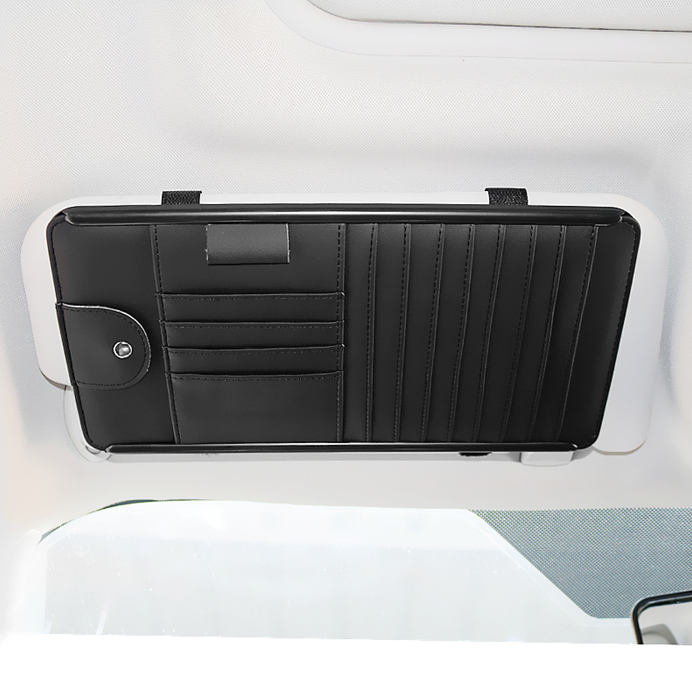 Pouch Clip-Bag-Holder Sunshade Pocket Interior-Organizer Cd-Storage Car-Sun-Visor Multifunction