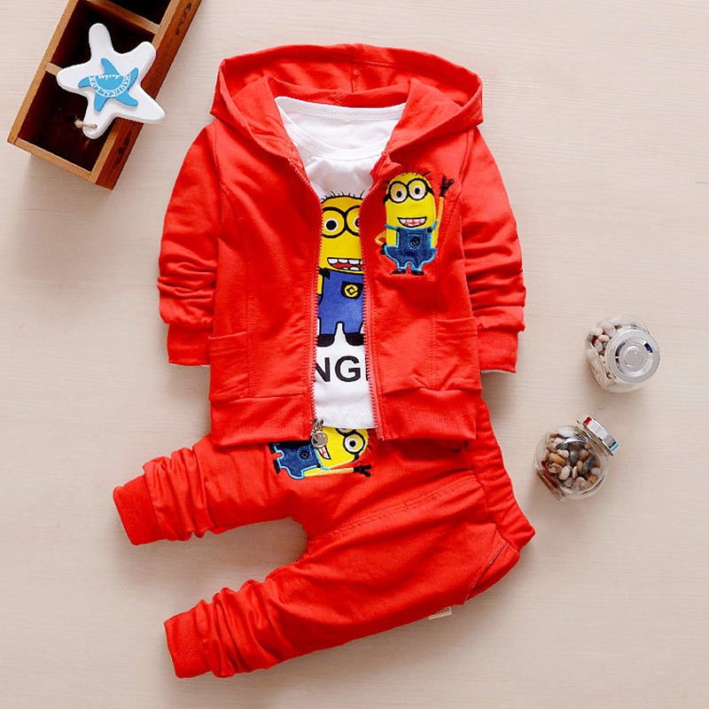 H22c11727c42e420691dbb8d728addea4S - Hot style spring baby girls boys suits mignon / newborn clothing set kids vest + shirt + pants 3 pcs. sets children suits
