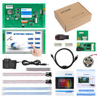 7 Inch HMI Serial LCD Display Module with Controller + Program + Touch + UART Serial Interface