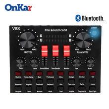 Аудио bluetooth usb внешняя звуковая карта dj звуковой миксер