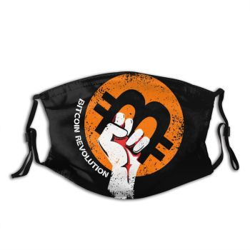 Crypto Reusable Mouth Face Mask Bitcoin Geek Anti Dustproof 1