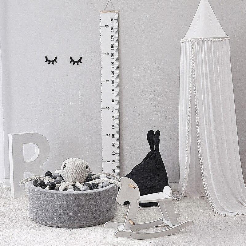 Image 4 - Хлопковое украшение для детской комнаты, мячи, москитная сетка,  детская кровать, навес, круглая кроватка, сетка, палатка, реквизит для  фотосессии, балдацин 245 смПротивомоскитная сетка