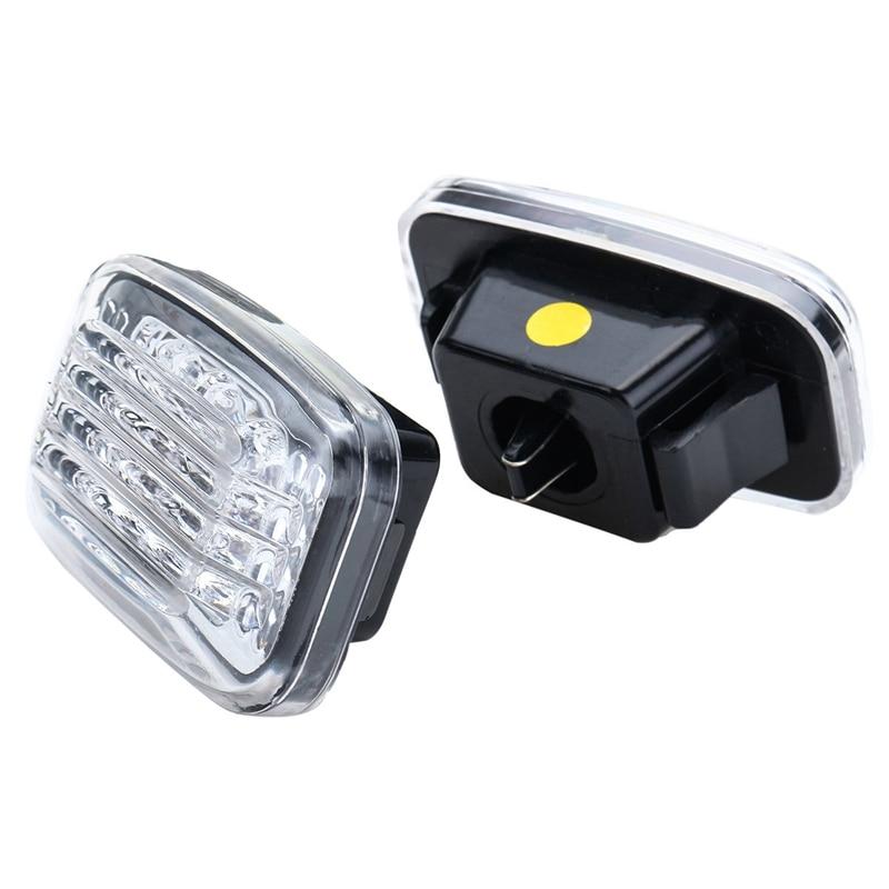 2 шт. автомобильный боковой маркер светильник светодиодный указатель поворота светильник для Toyota Land Cruiser 70 80 100