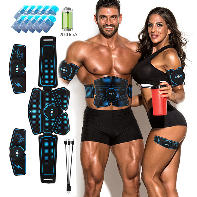 Rechargeable EMS Hip Trainer Muscle Stimulator ABS Fitness Buttocks Butt Lifting Buttock Toner Trainer Slimming Massager Unisex
