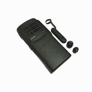 Image 1 - 2xBlack 전면 쉘 케이스 커버 플렉스 케이블 혼 볼륨 채널 노브 수리 키트 모토로라 GP328 GP340 HT750 라디오