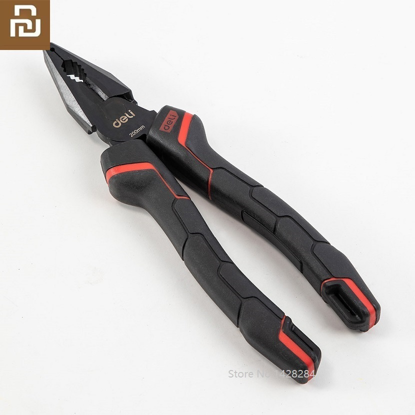 Youpin New High-carbon Steel Tiger Pliers Multi-function Flat Wire Cutter Side Oblique Cutter Cutting Nippers Pliers Tool