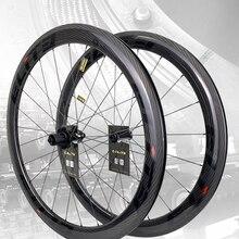 Carbon-Wheels Road-Bike UCI Rim-Tubeless Secure-Lock Nipple-Racing Ready-Sapim 700c Twill