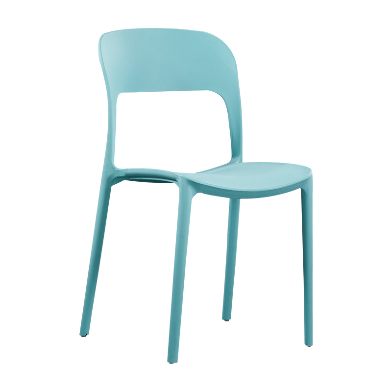 Nordic Yi Musi Plastic Dining Chair Simple Modern Reception Discussion Coffee Table And Chair Combination Back Chair