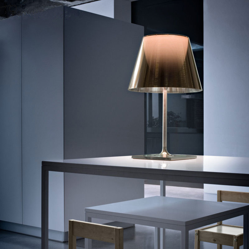Italien Einfache, Moderne Led Tisch Lampe FLOS Ktribe Individuelle Kreative Bunte Schreibtisch Lampe Wohnzimmer Schlafzimmer Nacht Büro Decor
