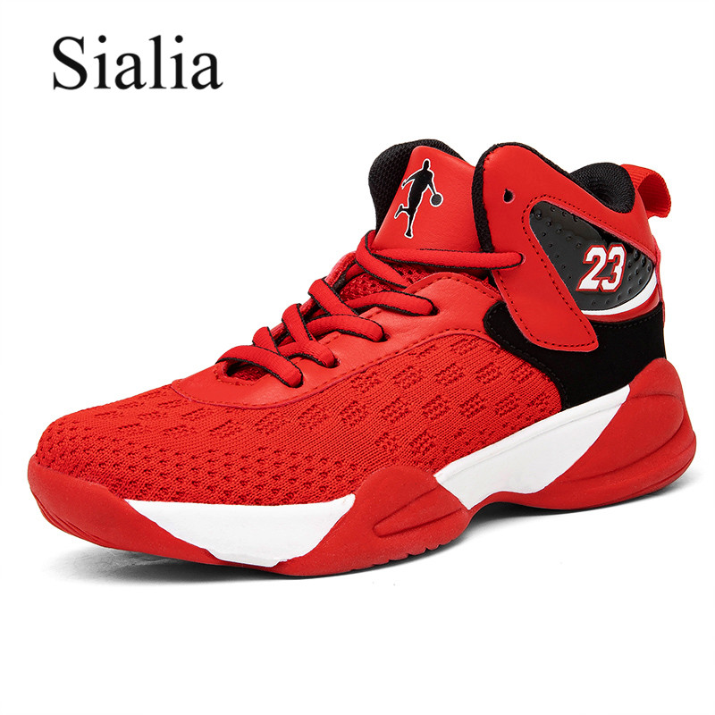 Sialia Sport Children Shoes For Kids Sneakers Boys Casual Shoes Girls Sneakers Leather Running Trainers Basketball Sneakers 2020