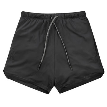 Double layer Jogger Shorts Men 2 in 1 Short Pants Gyms Fitness Built-in pocket Bermuda Quick Dry Beach Shorts Male Sweatpants 6