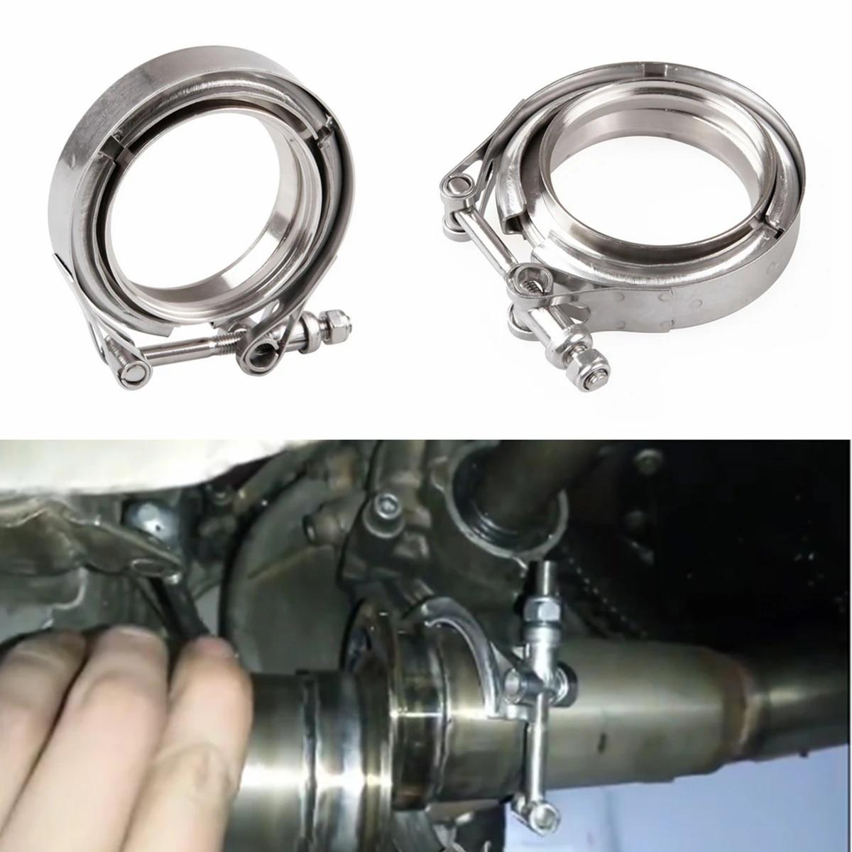 2 2 5 3 3 5 4 car aluminum flange v band exhaust clamp v band 1 5 2 2 5 3 3 5 4inch aluminium vband clamps