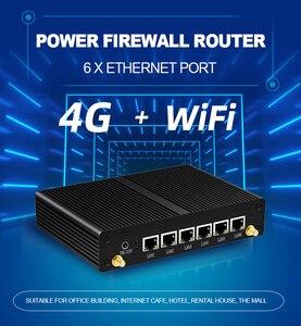 Image 4 - Intel Core i3 5010U 4010U חומת אש מכשיר מיני מחשב 6 Gigabit LAN Intel i211AT NIC AES NI 4G LTE WiFi 4 * USB HDMI RJ45 קונסולה