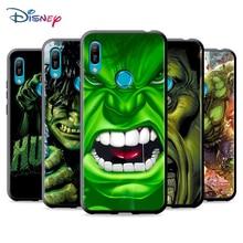 Black Soft Marvel Hulk Avengers For Huawei P Smart 2021 2020 Z S Mate 40 RS 30 20 20X 10 Pro Plus Lite 2019 Phone Case