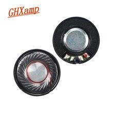 GHXAMP 2pcs 30 มม.หูฟังลำโพง 32 โอห์ม 100dB ชุดหูฟังไดร์เวอร์ลำโพงอะไหล่ซ่อมสำหรับหูฟัง
