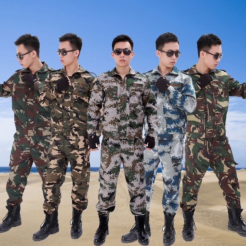 Military Training 07 Camouflage Suit Men And Women Summer Special Forces Training Clothes Uniform Military Training Clothes Work