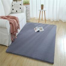 Современный меховой ковер для спальни домашний толстый плотный