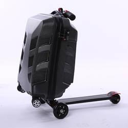 Новый модный скутер-сумка на колесиках креативный чемодан для мужчин и женщин модная дорожная сумка-интернат напрямую от производителя