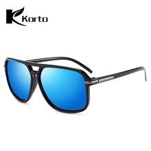 купить Korto Sunglasses Men Polarized Brand Designer Women/Men Vintage Eyewear Driving Fishing Sun Glasses Gafas De Sol Hombre Okulary дешево