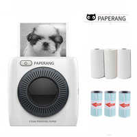 PAPERANG P2 Mini Portable Bluetooth Photo Printer Pocket HD Thermal Label Sticker Printer For Mobile Phone Android iOS Phone