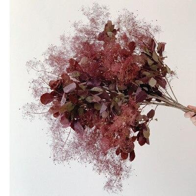 100 gramo/lote natural Flor de rime amante en la niebla material de bricolaje