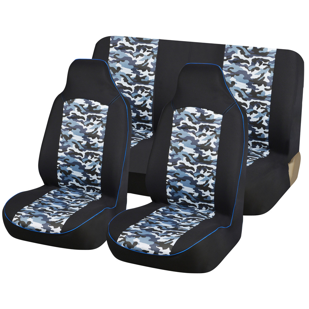 AUTOYOUTH Camouflage Car Seat Cover Universal Fit Most Vehicles Seats Interior Accessories Fashion Car Seat Protector