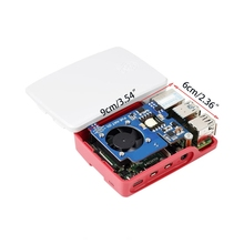 R58A for Raspberry Pi PoE HAT with Case Mini Power Over Ethernet Expansion Board for Raspberry Pi 4 B 3B+ and Rackmount