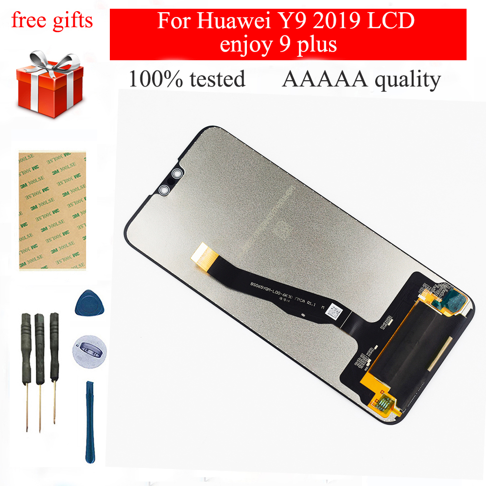 6.5 inch 2160*1080 For <font><b>Huawei</b></font> <font><b>Y9</b></font> <font><b>2019</b></font> <font><b>LCD</b></font> Display For enjoy 9 plus <font><b>LCD</b></font> Touch Screen Digitizer Assembly enjoy 9plus Replacement image