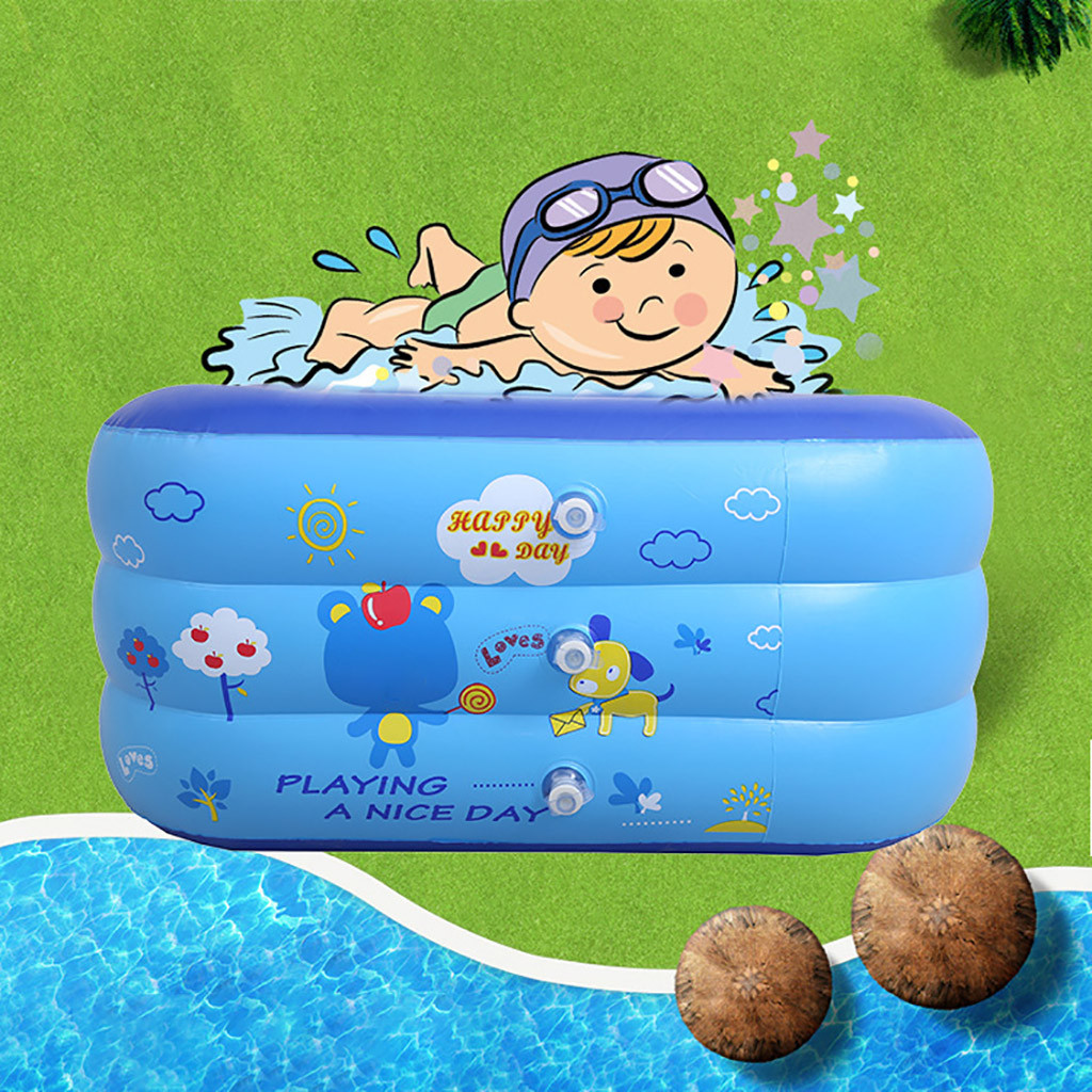 Inflatable Watermelon Swimming Pool Round Garden Party Outdoor Gift