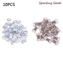 Бандажная обертка 10/30 шт растягивающиеся металлические зажимы