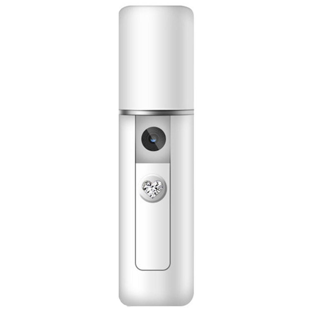 Portable Handheld USB Nanomist Facial Humidifier Steamer Hydrating Beauty Device