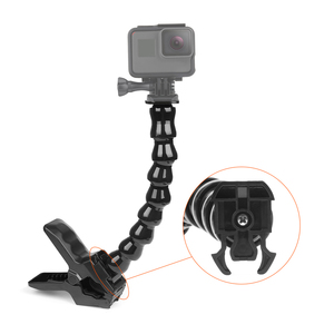 Image 5 - Jaws Flex Clamp Mount For GoPro Hero 9 8 7 5 Flexible Adjustable Gooseneck for Go Pro 9 8 7 5 Sjcam Yi Camera Tripod Accessries