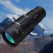 10x40 Powerful Monocular HD Telescope for Bird Watching Outdoor Hiking Sightseeing BAK4 FMC Lens eyebre monocular professional space astronomical telescope 12 36x50 bak4 outdoor travel bird watching spotting scope with tripod