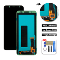 Free Tools For Samsung Galaxy A6 Plus 2018 A605 A605F A605FN LCD Display Touch Screen Digitizer Assembly for Samsung a605 lcd