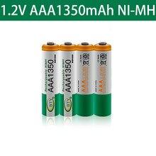 Bateria recarregável ni-mh das baterias 2021 v do aaa de 1350 1.2 mah ni-mh para a câmera, tocha conduzida da lanterna dos brinquedos