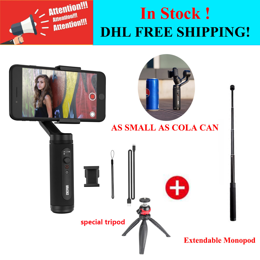 Zhiyun Smooth Q2 3-Axis Handheld Gimbal Stabilizer For IPhone 11/11 Pro/Xs/7/8 Plus/Samsung Galaxy/Huawei, For Vlog YouTube