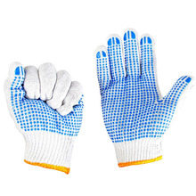 Anti-slip Gloves Wear Abrasion Resistant With Rubber Dots Safety Garden Super Deal! Inventory Clearance