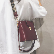 Shoulder Bag Luxury Handbags Women Bags Designer Korean Style Wide Strap Crossbody