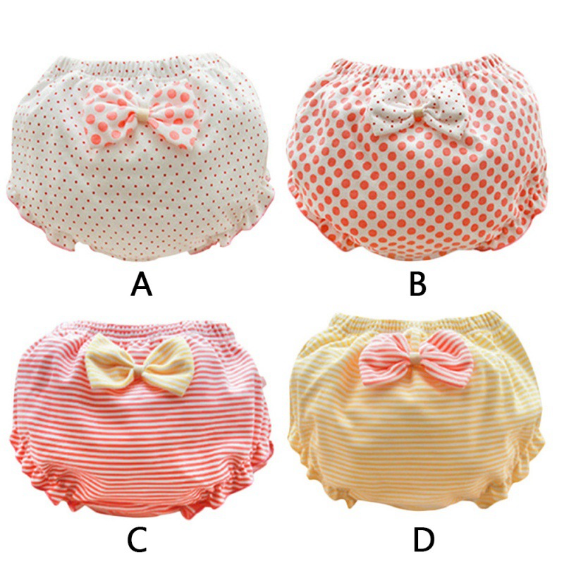 Baby Girls Shorts Infant Cotton Bread Pants Toddler Boy Summer Short Trousers Baby Pants With Ruffles Newborn Girl Bottoms