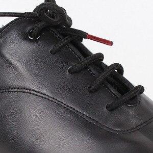 Image 5 - Zapatos de baile BD 417 para hombre, calzado de baile latino de salón, suela de cuero suave con abertura, zapatos de baile Samba Chacha Rumba Jive Paso doble
