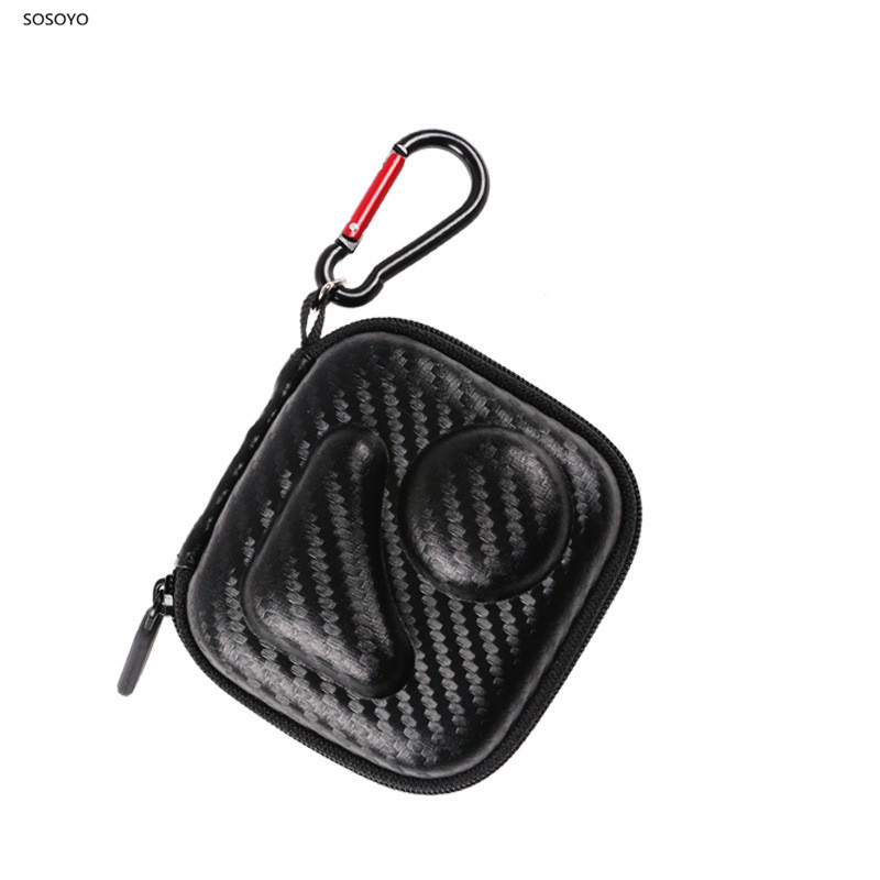 Portable Waterproof Storage Case EVA Travel Protection Shockproof Box For Gopro Max Action Camera Accessories Lens Mini Bags