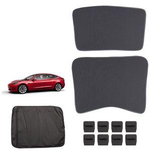 Солнцезащитный козырек для автомобиля солнцезащитный козырек для лобового стекла передний задний солнцезащитный козырек для Tesla Model 3 L9BC