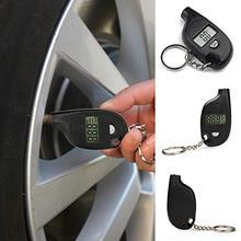 Mini Tragbare Hohe Genauigkeit Motor Auto Reifen Luftdruck Prüfung Gauge Meter LCD Digital Display Schlüssel Kette Auto Auto Test werkzeug