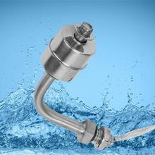 цена на Wireless Switch  Stainless Steel Liquid Water Level Sensor Float Switch For Pool Can 75mm Rotary Switch