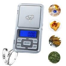Mini escala digital portátil 100/200/300/500g peso 0.01/0.1g grama, apropriado para a cozinha da jóia da elevada precisão