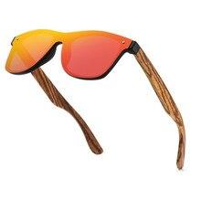 Stgrt gravar logotipo óculos de sol polarizados de madeira nogueira espelho uv400 feminino design da marca tons coloridos feitos à mão